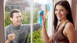 pudset vinduerne