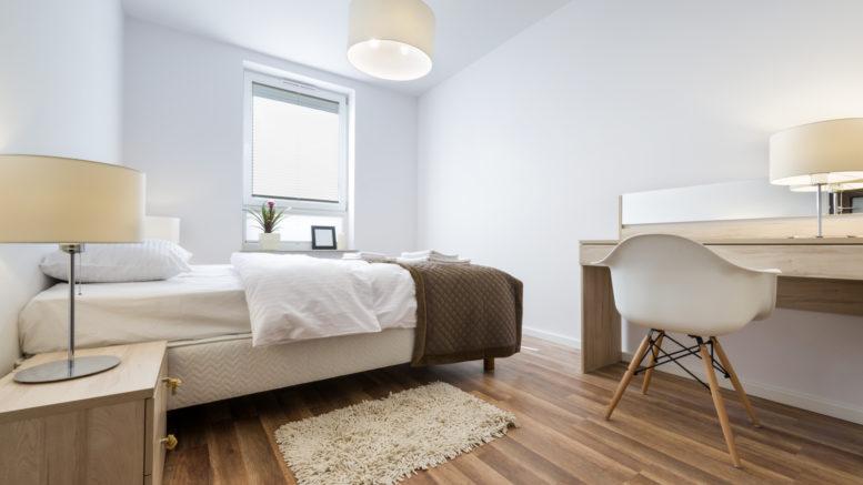 Interior design series: Modern Bedroom in white