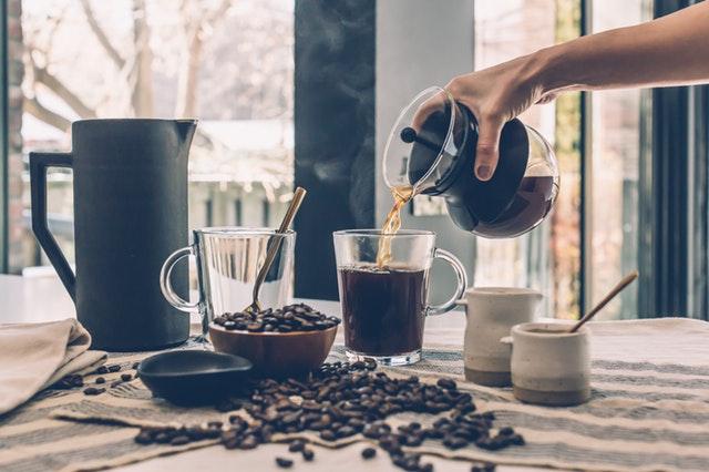friskbrygget kaffe